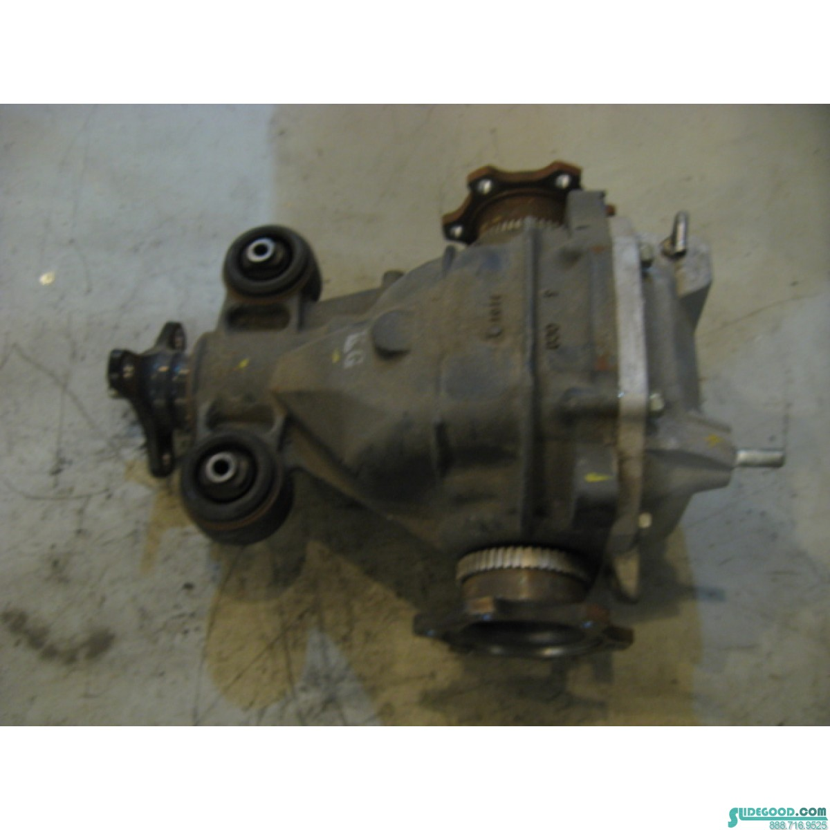 08 Infiniti G37 Auto Rear Differential Assembly R11451 Remote Start