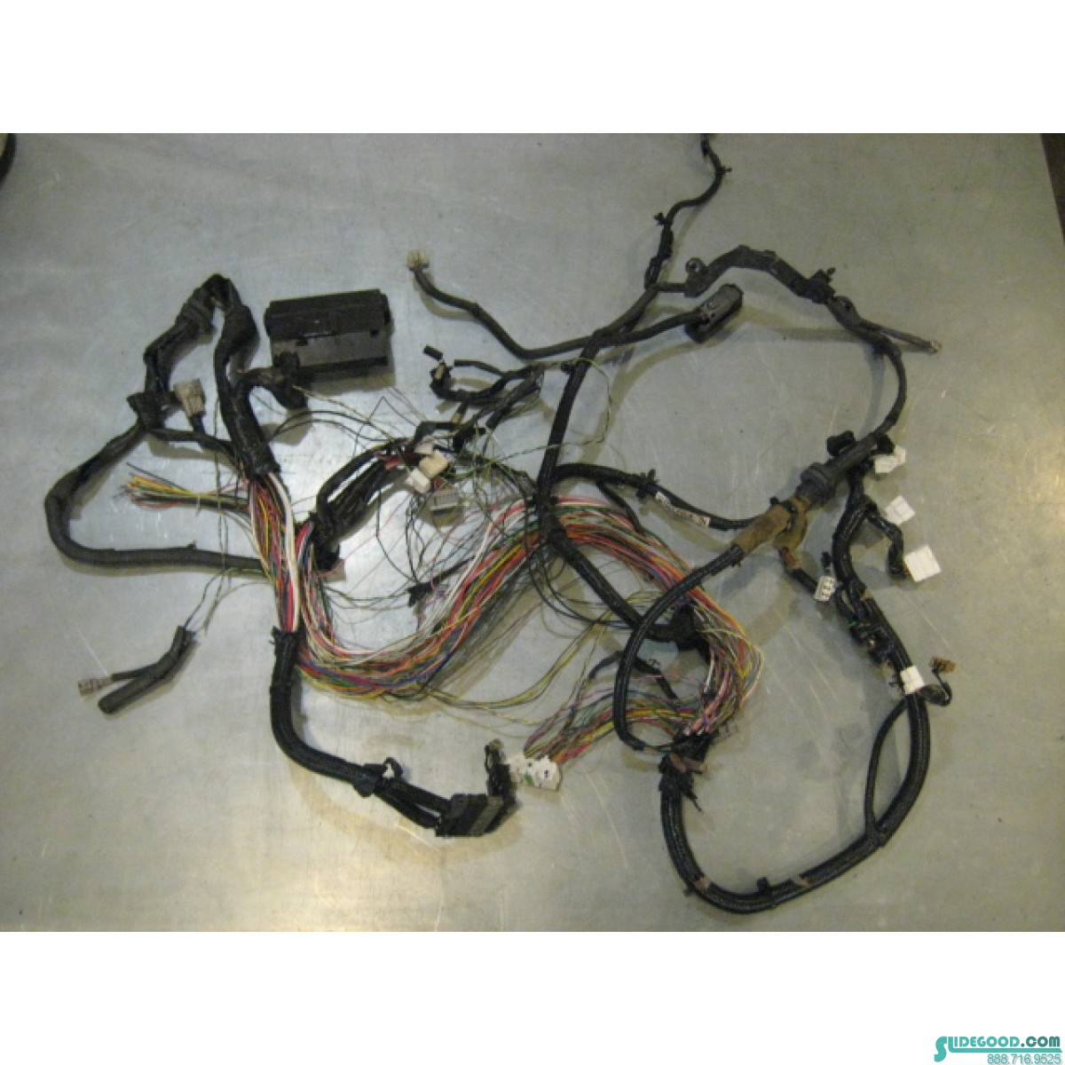 08 Nissan 350z At Engine Bay Wire Harness Parts 24012 Ev00b R20138 Wiring