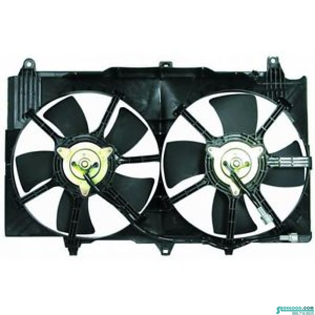 03 07 Infiniti G35 Sedan Radiator Fan Embly New