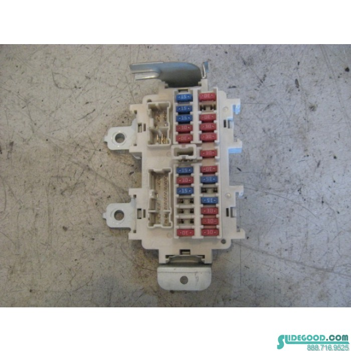 9736_01 03 nissan 350z interior fuse box r9736 2003 nissan 350z fuse box diagram at gsmx.co