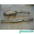 02 Subaru IMPREZA Exhaust Assembly  R10032