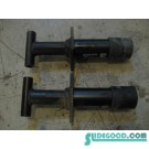 99 Porsche BOXSTER Rear Bumper Reinforcement Shocks 993.505.015.00 R11987