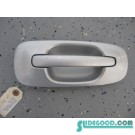 02 Subaru IMPREZA WRX Driver Rear Door Handle Silver Silver R186