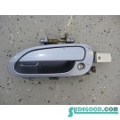 03 Honda S2000 Driver Door Handle Blue Blue R187
