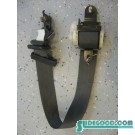 00 Honda PRELUDE Driver Rear Seat Belt Black Interior R600