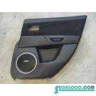 09 Mazda 3 Rear RH Passenger Door Panel  R9249