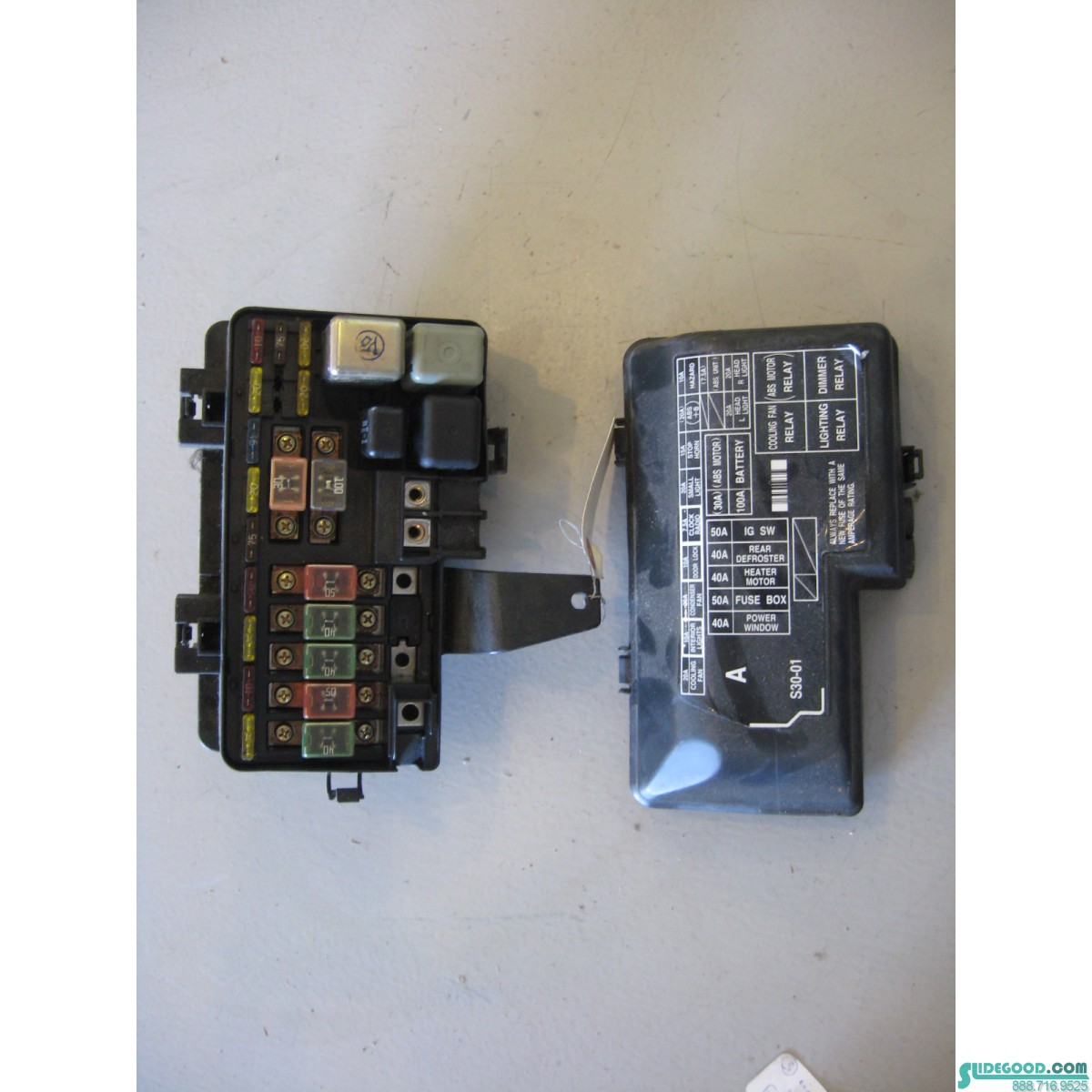 Bay Fuse Box Wiring Diagram Peugeot 206 Heater 01 Honda Prelude Engine S30 A0 R5970bay 19